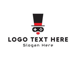 Funny - Game Clown logo design