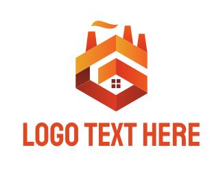 Orange And Red - Orange Castle logo design