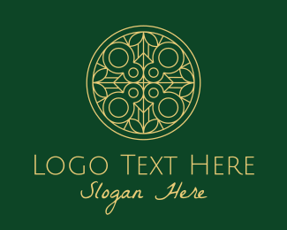 Relic - Minimalist Nature Pattern logo design