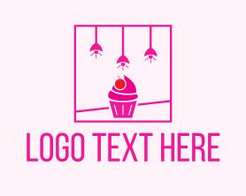 Interior - Cupcake Bakeshop Interior logo design