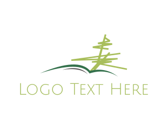 Etsy - Tree Book logo design