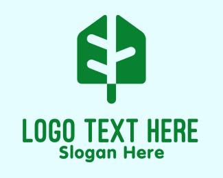 Environment Friendly - Modern Green Leaf logo design