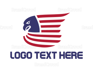 """""""American Eagle Flag"""" by podvoodoo13"""