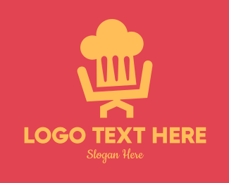 Chair - Chef Chair logo design