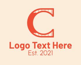 Beauty - Orange Simple Letter C logo design