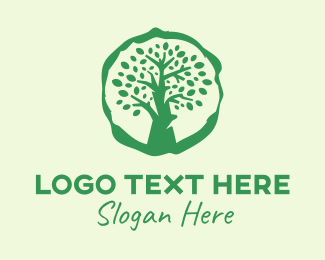 Big Green Tree Logo