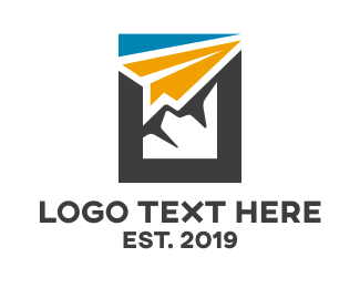 Cargo - Abstract Paper Airplane  logo design