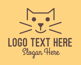Pet Food - Simple Cat logo design