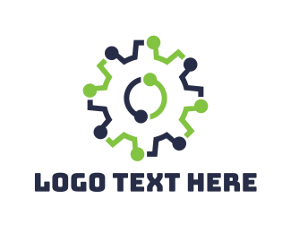 Cog - Tech Cog logo design