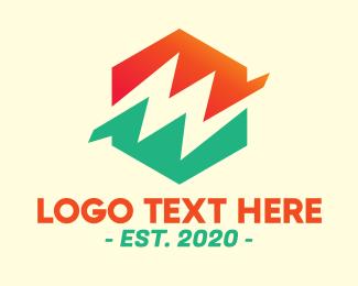 Energy - Energy Power Hexagon logo design