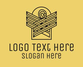 Swan - Minimalist Luxury Swan logo design