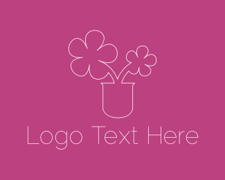 Scrapbook - Cute Flowers logo design