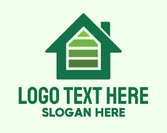 Residence - Green House Energy logo design