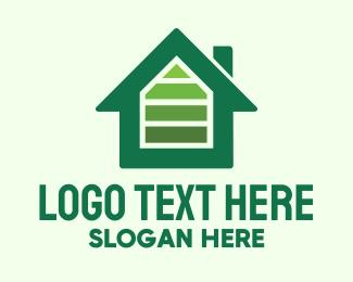 Recharge - Green House Energy logo design
