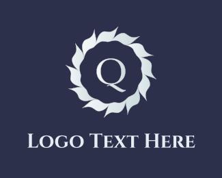 Q Flower Logo