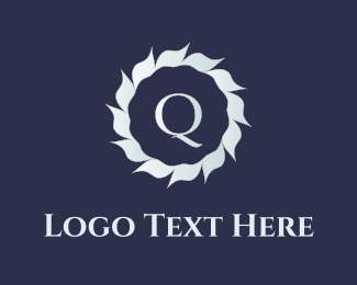 Luxury - Q Flower logo design