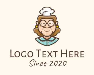 Home Cook - Homemade Grandma Cooking logo design