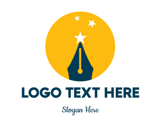 Review - Quill & Stars logo design