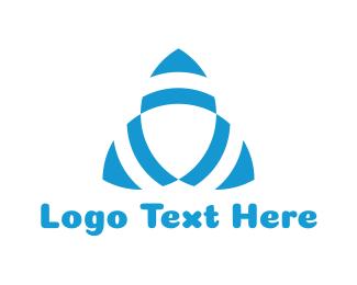 Triangular - Triangular Turbine logo design
