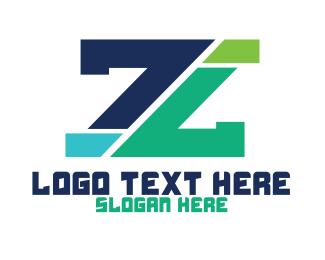 Lending - Modern Edgy Letter Z logo design