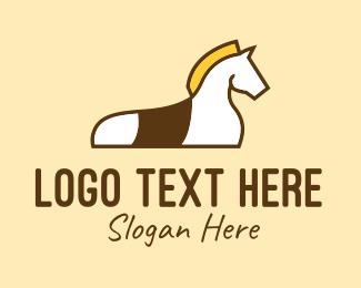 Trojan - Show Horse Training logo design