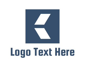 Letter K - Abstract Letter K logo design
