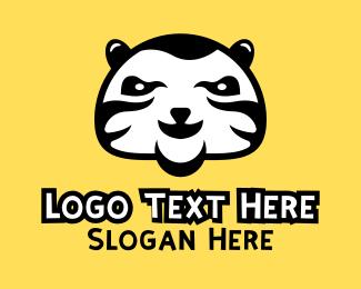 Yellow Cat - Tiger Cat Zoo logo design