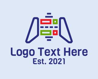 Console - Tech Console Controller logo design