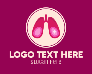 Respiratory - Medical Respiratory Lungs logo design