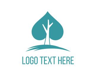 Casino - Spade Tree logo design