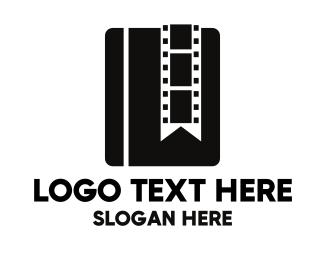 Cinema - Book Film logo design