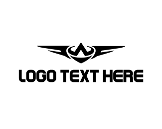 Winged - Winged Letter A logo design