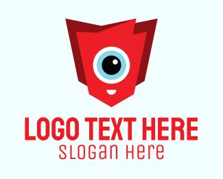 Cyclops - Cute Creature logo design