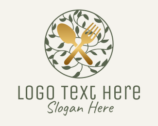 Tableware - Cutlery Vine logo design