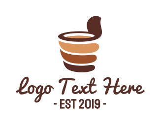 Mocha - Chocolate Drink logo design