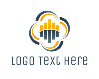 Audio - Audio Cloud logo design