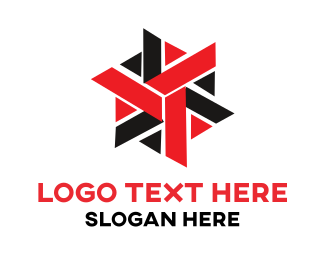 Five Star - Modern Star logo design