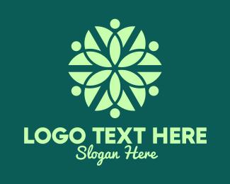 """Green Organic Pattern"" by royallogo"