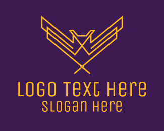 Minimalist Owl  logo design