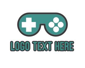 Geek - Gaming Goggles logo design