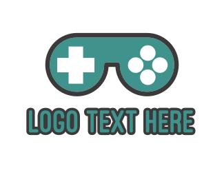 Eye Glasses - Gaming Goggles logo design