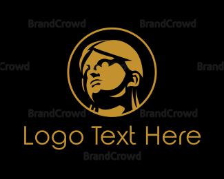 Dermatologist - Statue Face logo design