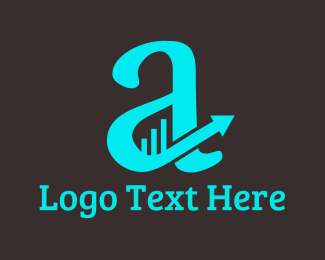 Financial - Financial Letter A logo design