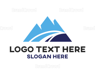 Apex - Blue Mountain Peaks logo design