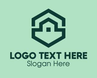 Contactor - Green Home Construction  logo design