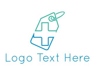 Doctor - Pharmacy Tag logo design