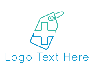 Clinical - Pharmacy Tag logo design