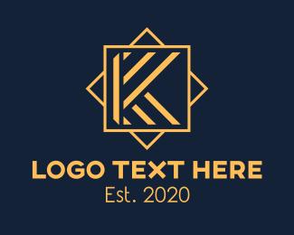 Vip - Luxury Letter K logo design