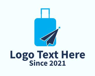 Traveler Luggage Bag  Logo