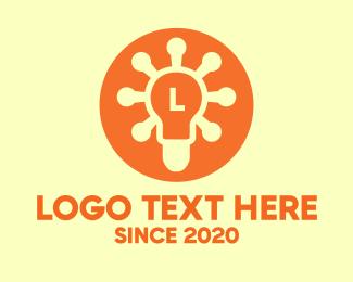 """Light Bulb Lettermark "" by MDS"